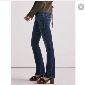 Lolita boot lucky brand jeans dark wash